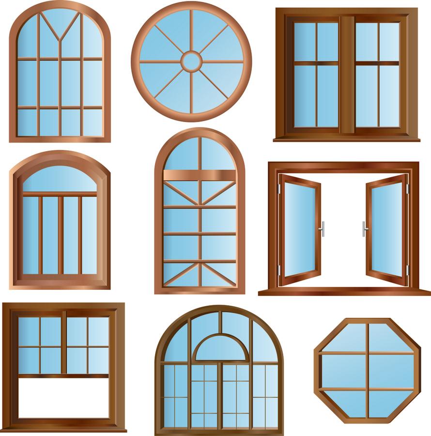 Форма деревянных окон