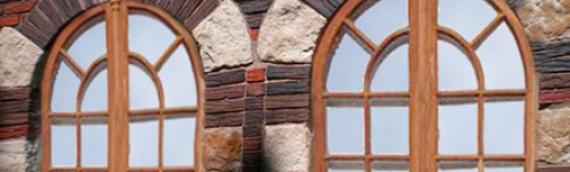Арочные деревянные окна: изысканность вашего дома