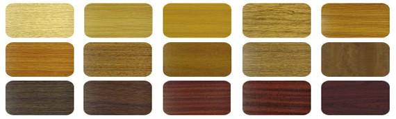 Цветовые решения изделий