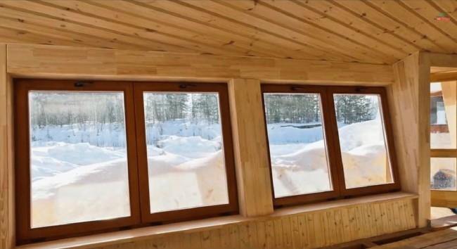 деревянные окна эконом класса