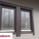 Деревянные окна: фото 20