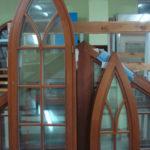Деревянные окна: фото 49