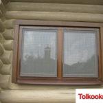 Деревянные окна: фото 52