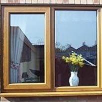 окна из дуба