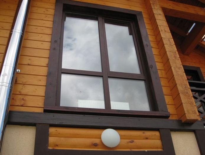 обналичка деревянного дома