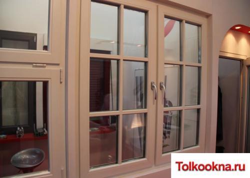 Деревянные окна: фото 26